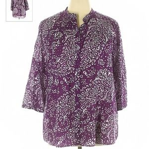 MERONA BUTTON UP SIZE SMALL!!